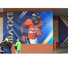 Super Bowl Poster Photographic Print