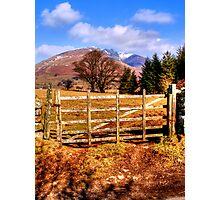 Skiddaw, Lake District Photographic Print