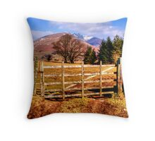Skiddaw, Lake District Throw Pillow