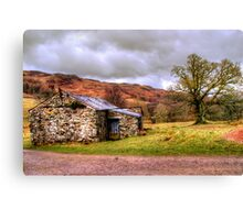 Gowbarrow Barn, Lake District Canvas Print