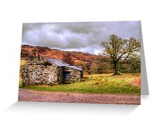Gowbarrow Barn, Lake District Greeting Card