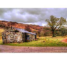 Gowbarrow Barn, Lake District Photographic Print