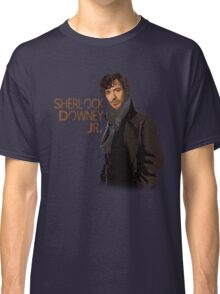 Sherlock Downey Jr. Classic T-Shirt