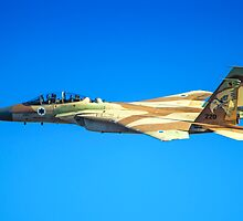 Israeli Air force (IAF) Fighter jet F-15I (Raam) in flight by PhotoStock-Isra