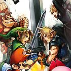 Smash 4 Cloud Reveal Illustration by CraigUK37