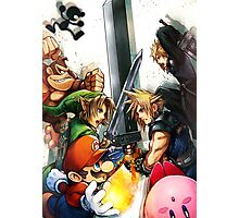 Smash 4 Cloud Reveal Illustration Photographic Print