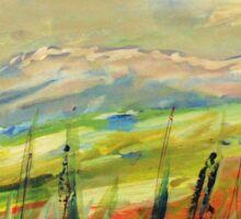 The Blue Ridge. Sticker