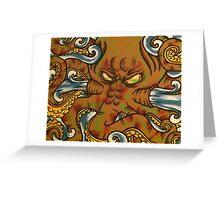 Octopressure Greeting Card