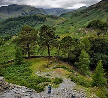 Views From Castle Crag by FyldePhotos