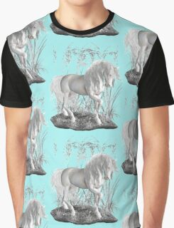 Ivory .. a white stallion Graphic T-Shirt
