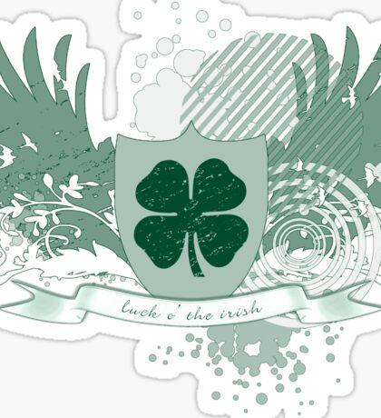 luck o the irish Sticker