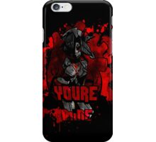 You're Mine: C iPhone Case/Skin