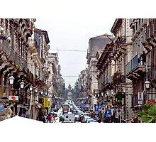 Catania - Sicilia - Italy Photographic Print