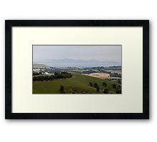 Gippsland Panorama. Australia. Framed Print
