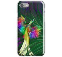 Rainbow Bird of Paradise iPhone Case/Skin