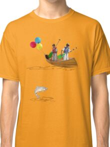 Tee: Canoe with Pooh Classic T-Shirt