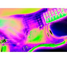 electric colors Photographic Print