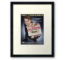 Captain Jack Harkness - Time Detective Framed Print