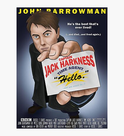 Captain Jack Harkness - Time Detective Photographic Print