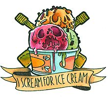 I scream for ice cream! by Laura Guglielmo