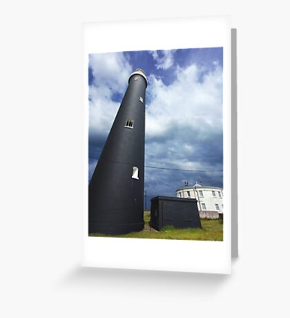 The Old Lighthouse - Dungeness  Greeting Card