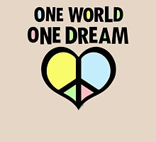 One World One Dream Womens Fitted T-Shirt