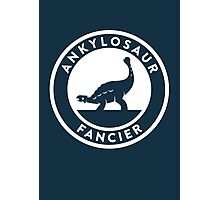 Ankylosaur Fancier Print Photographic Print
