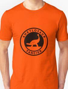 Ankylosaur Fancier Tee (Black on Light) T-Shirt