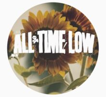 all time low sunflower logo 2 by maydolma