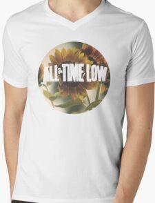 all time low sunflower logo 2 Mens V-Neck T-Shirt