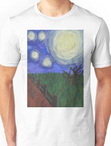 Moonlit Field Unisex T-Shirt