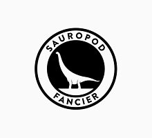 Sauropod Fancier (Black on Light) Unisex T-Shirt