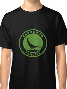 Sauropod Fancier (Green on White) Classic T-Shirt