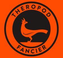 Theropod Fancier (Black on Light) Kids Tee