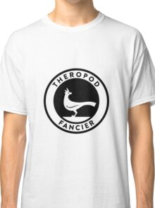 Theropod Fancier (Black on Light) Classic T-Shirt