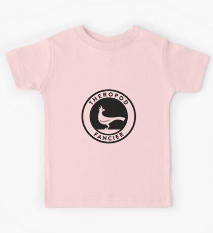 Theropod Fancier (Black on Light) Kids Clothes