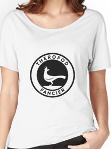 Theropod Fancier (Black on Light) Women's Relaxed Fit T-Shirt