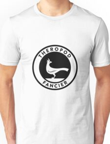 Theropod Fancier (Black on Light) Unisex T-Shirt