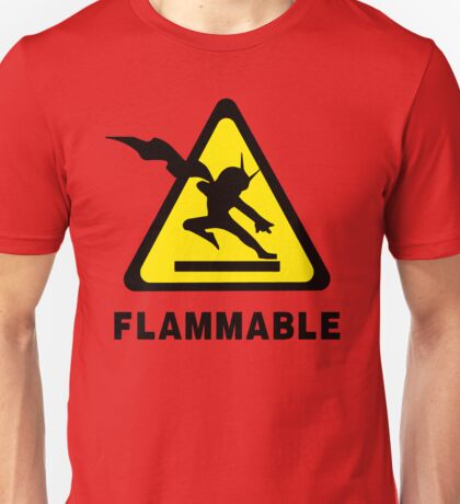Flammable Joe Unisex T-Shirt