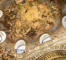 Austrian National Library - Vienna by Alexandra Vaughan