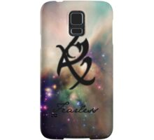 The mortal instruments : Shadowhunter rune -  Fearless (fear not) Samsung Galaxy Case/Skin