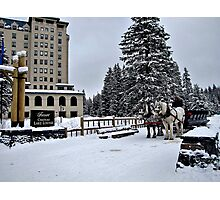 Chateau Lake Louise Photographic Print