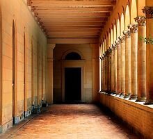 Arcade in Potsdam by Angelika  Vogel