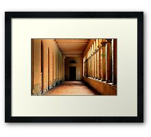 Arcade in Potsdam Framed Print