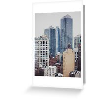 Views of New York City Greeting Card