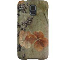 fleurs d'hier Samsung Galaxy Case/Skin
