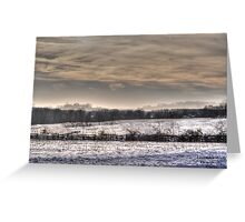 Snowrenity Greeting Card