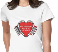 Accordions Are For Lovers 2 in steamy red! T-Shirt