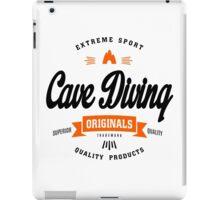 Cave Diving Extreme Sport B&O Design Art iPad Case/Skin