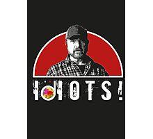 Supernatural Bobby IDIOTS! Photographic Print